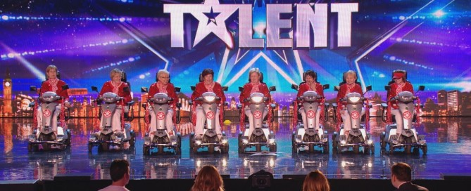 Red Wheelies, Britain's Got Talent - Quingo