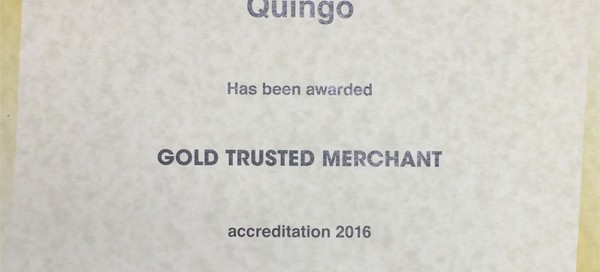 Quingo Feefo Trusted Award