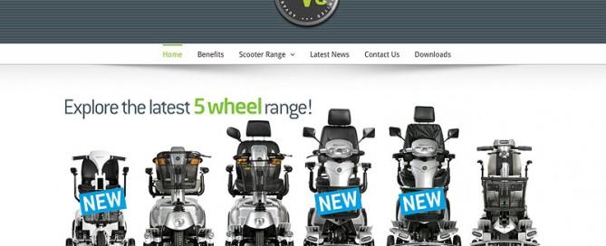 Quingo Mobility Scooter range