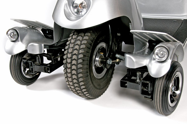 Quingo tri-wheel steering
