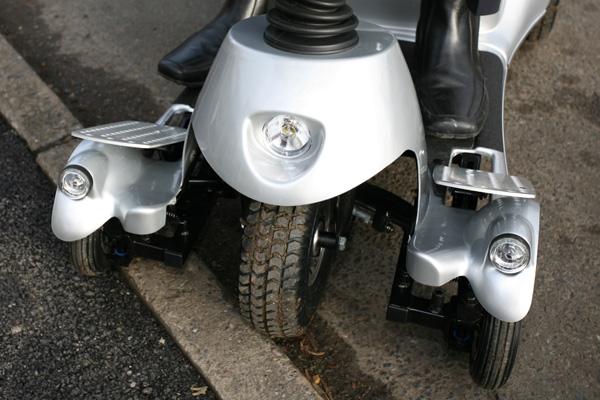 Quingo 5 wheel stabilityr