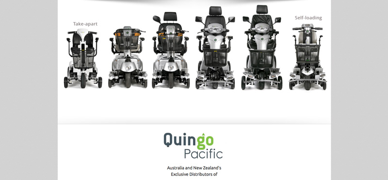 Quingo Pacific Website