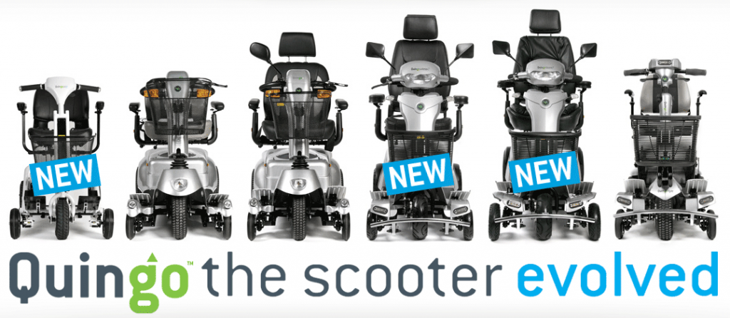Quingo mobility scooters