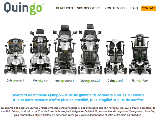 Our French distributors have opened their new website!
