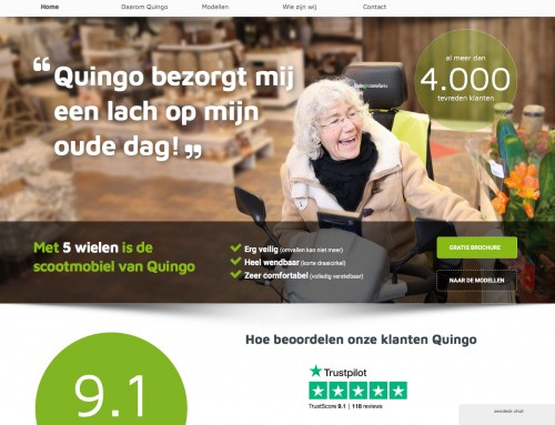 Quingo's Dutch distributor new website