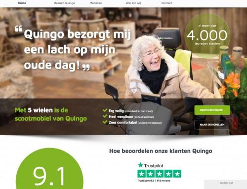 Quingo's Dutch distributor new website