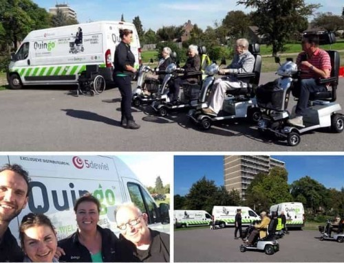 Quingo's Dutch Distributor Helps in Scooter Safety Innitiative