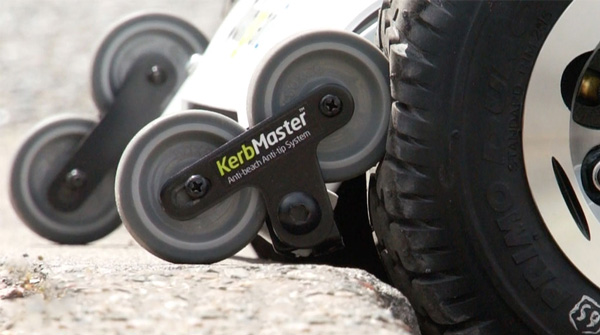 Quintell™ KerbMaster™ anti-tip and anti beach