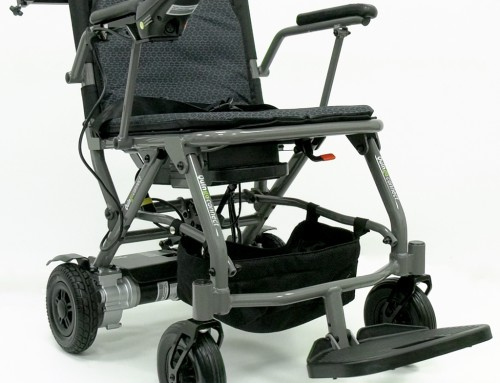 The Quingo Connect Portable Travel Electric Wheelchair