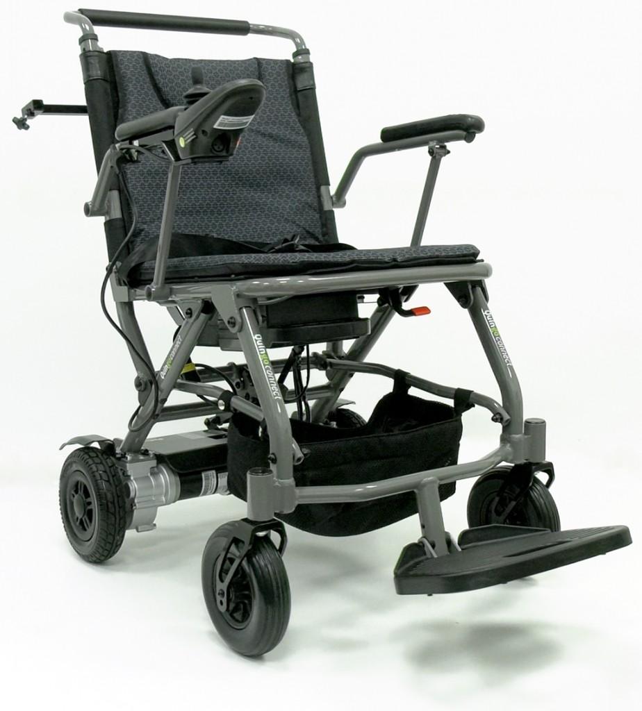 Quingo Connect Portable Travel Electric Wheelchair