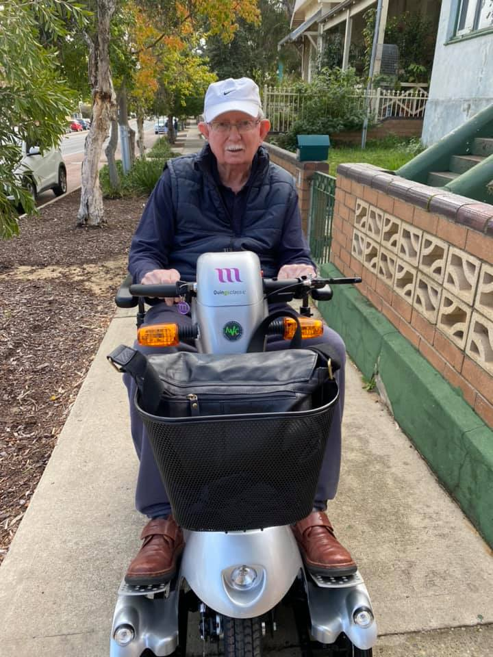 The journey begins with Quingo mobility scooters