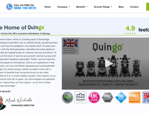 New Website Launched by UK Distributor