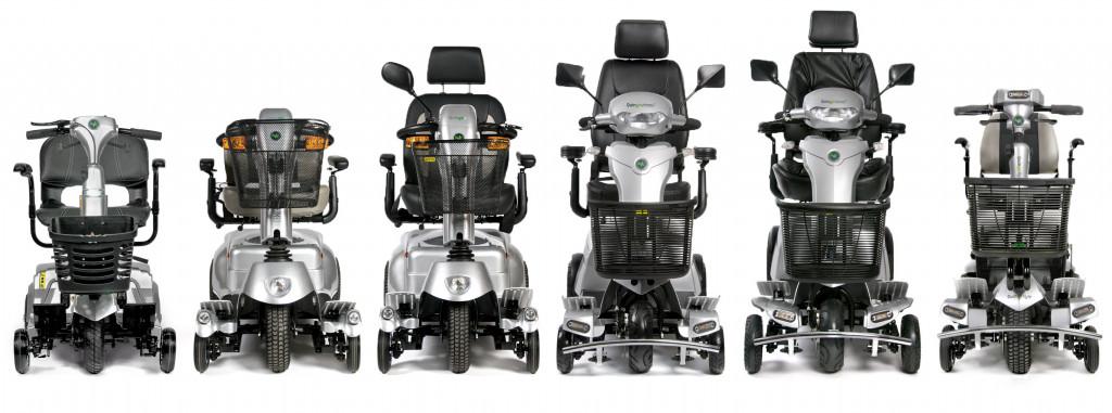 The Quingo 5-wheel range featuring Quintell™ Technologies